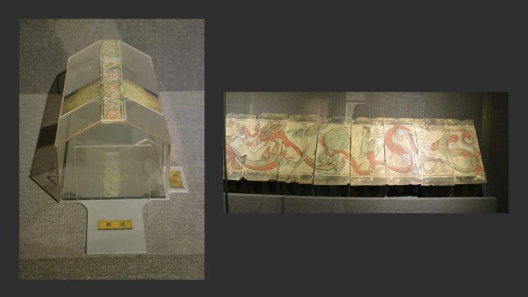 Росписи из гробницы на мифологические сюжеты. Западная Хань (206 до н.э. – 9 н.э.)