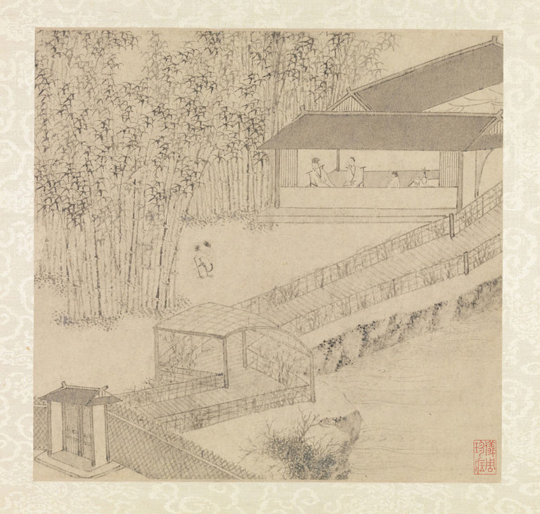 Сад скромного чиновника. 1551