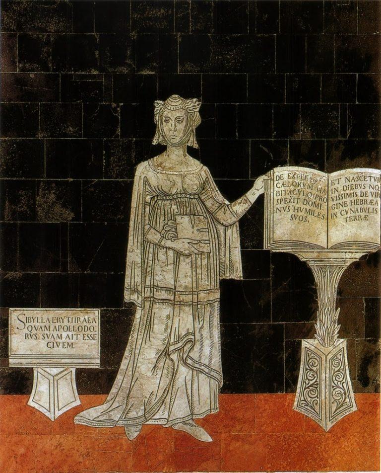 Сивилла Эритрейская. 1481