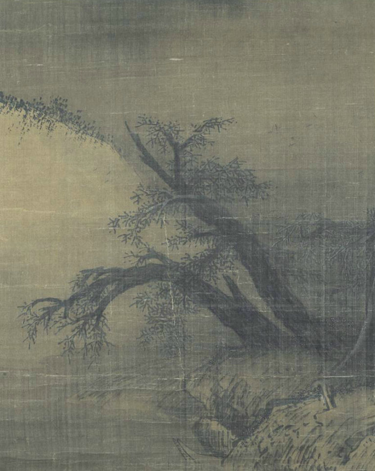 Снежный пейзаж. Фрагмент. Китай, XIII в.