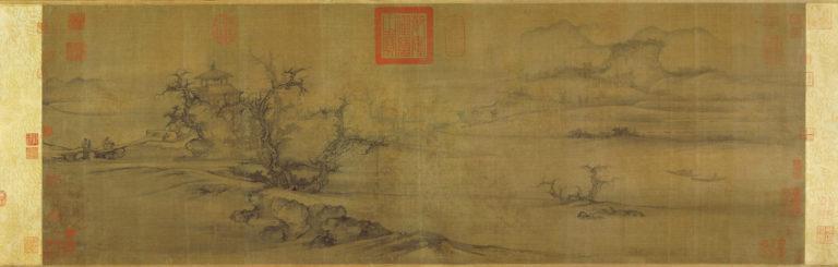 Старые деревья, ровная даль. Китай, ок. 1080