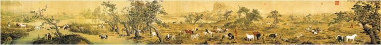 Сто лошадей. 1735