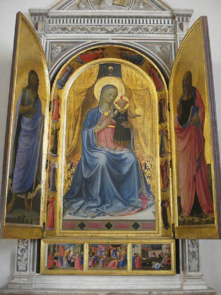 Табернакль Линайоли. 1433