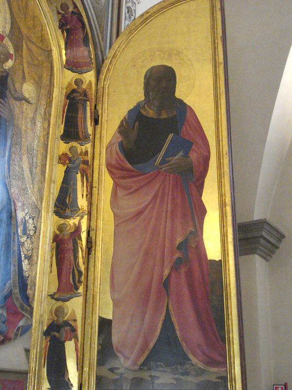 Табернакль Линайоли. Фрагмент. 1433