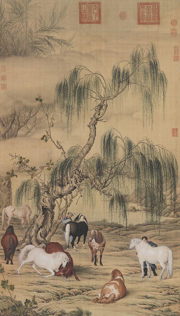 Восемь лошадей. 1723–1735