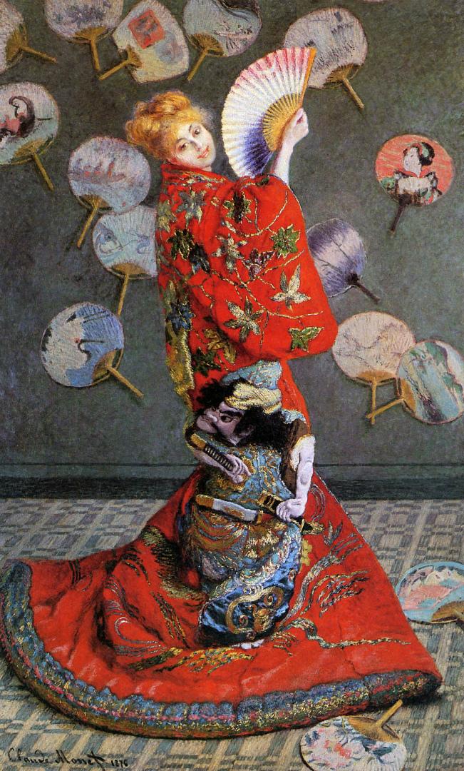 Японка (Камилла Моне в японском костюме). 1876