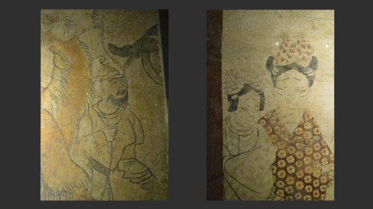 Живопись из гробниц. Период Тан (618–906)