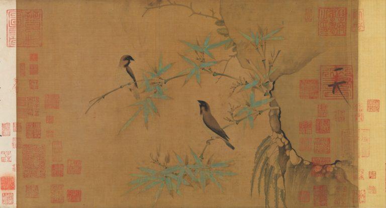 Зяблики и бамбук. Китай, XII в.