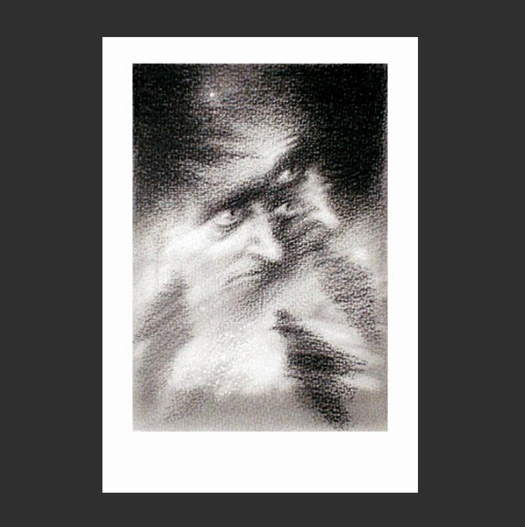 «...Прохожий быстро исчезал в снежной метелице». 1981