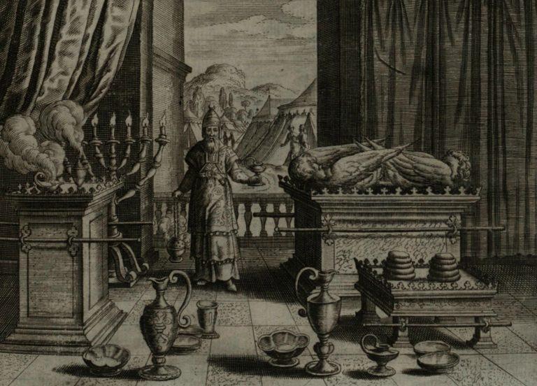 Аарон в Скинии. 1670