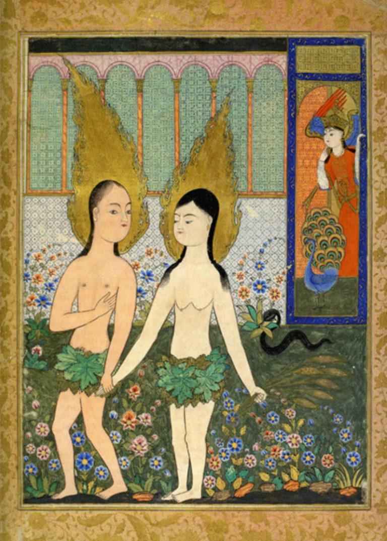Адам и Ева. XVII век.