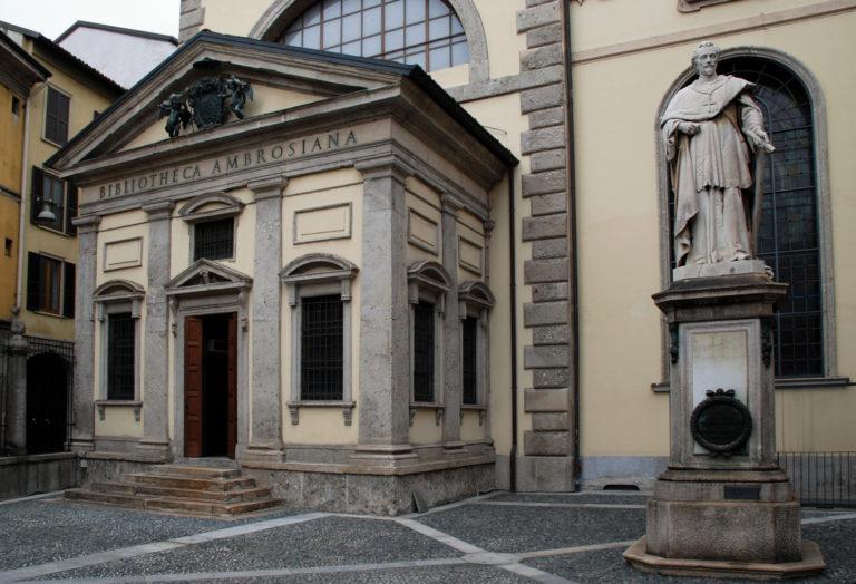Амброзианская библиотека. Основана в 1602 г.