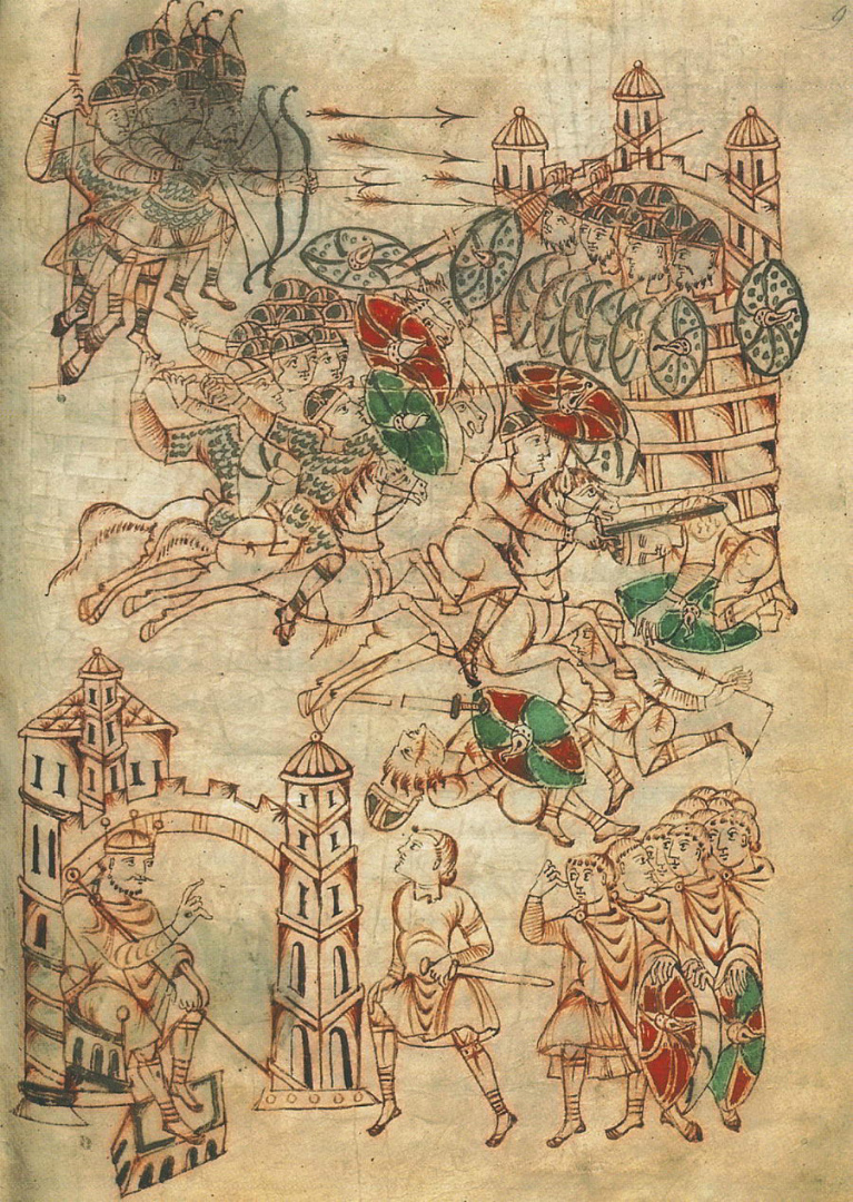 Антиох IV нападает на Египет и вступает в Иерусалим. X в.