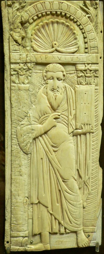 Апостол Павел. Византия, VI–VII в.