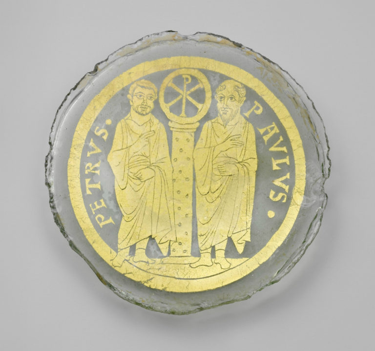 Апостолы Пётр и Павел. Византия, IV в.