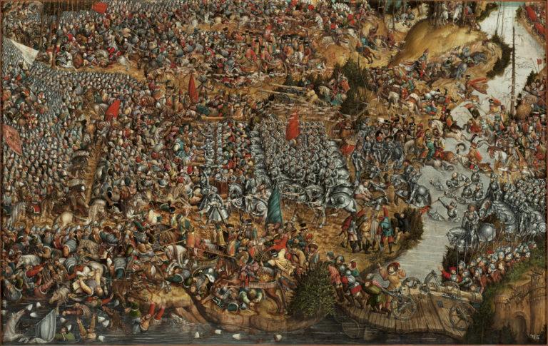 Битва под Оршей (8 сентября 1514 года). 1524-1530. Художник – предположительно, Ханс Крелл (Hans Krell; ок. 1490 – 1565 или 1586)
