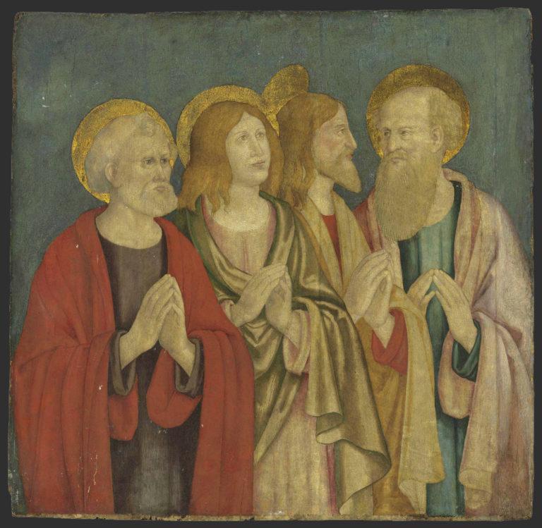 Четыре евангелиста. Италия, ок. 1500