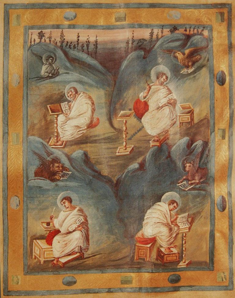 Четыре евангелиста. Ок. 800