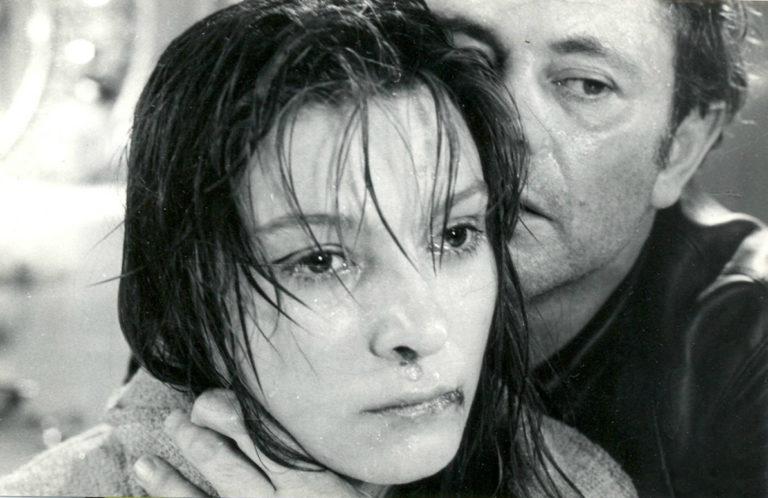 Д. Банионис в роли Криса Кельвина и Н. Бондарчук в роли Хари. Кадр из фильма «Солярис». 1972