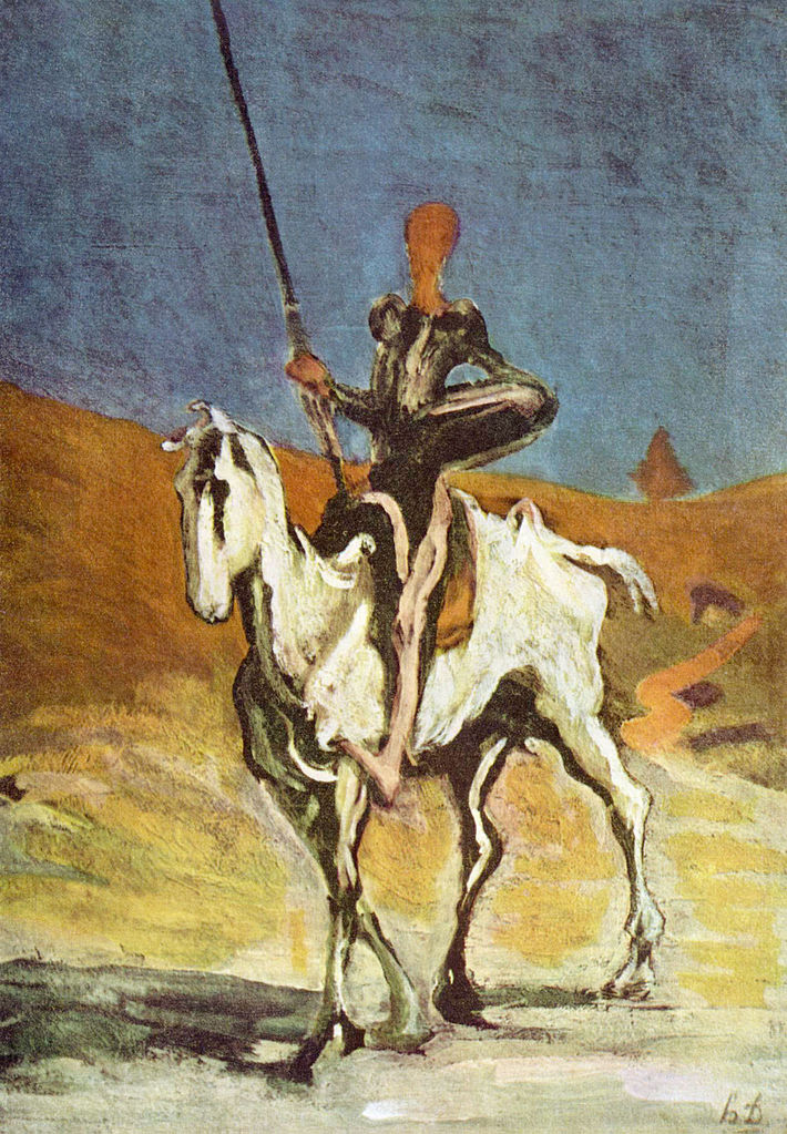 Дон Кихот. Ок. 1868