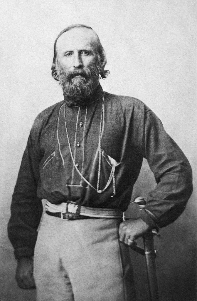 Джузеппе Гарибальди (итал. Giuseppe Garibaldi, 1807–1882). Ок. 1861