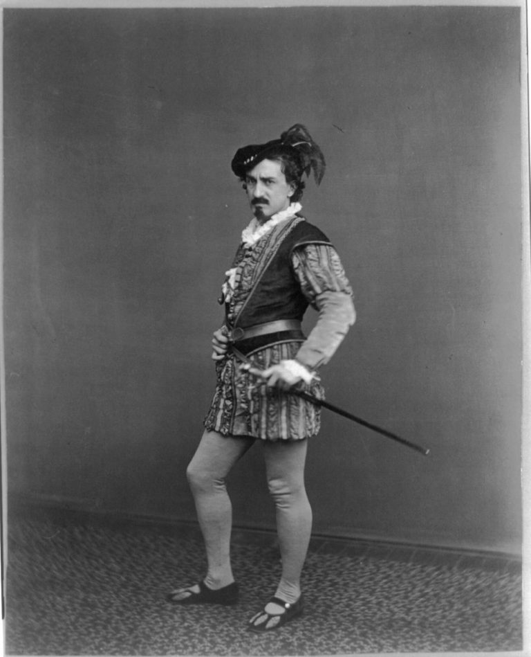 Эдвин Бут в роли Яго. Спектакль «Отелло, венецианский мавр». Ок. 1870
