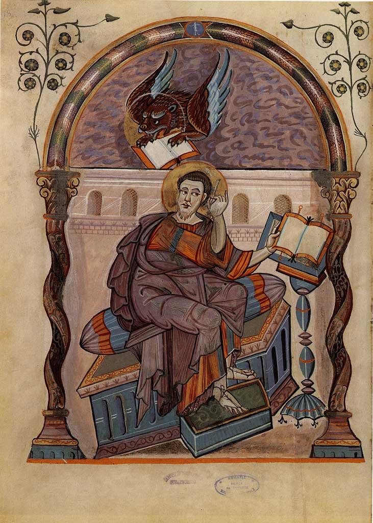 Евангелист Марк. 778–820