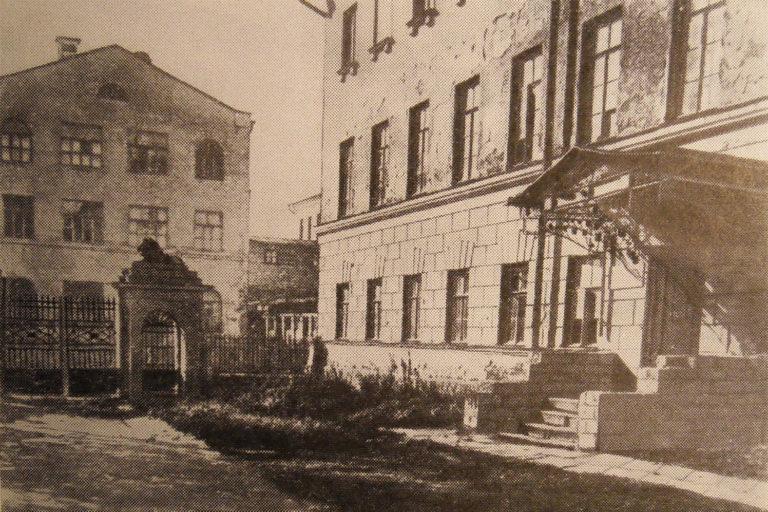 Флигель Мариинской больницы для бедных, в котором родился Ф. М. Достоевский