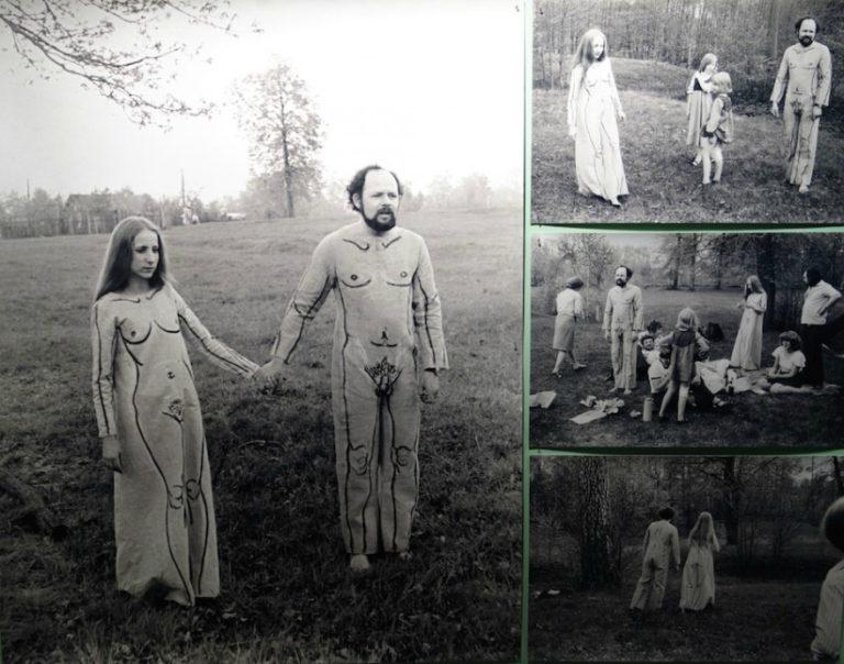 Фотоперформанс «Костюмы». 1977
