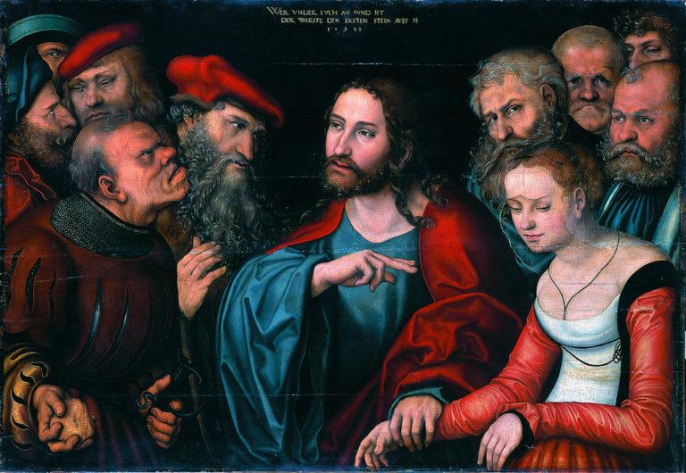 Христос и грешница. Ок. 1532