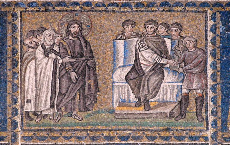 Христос на суде у Пилата. VI в.