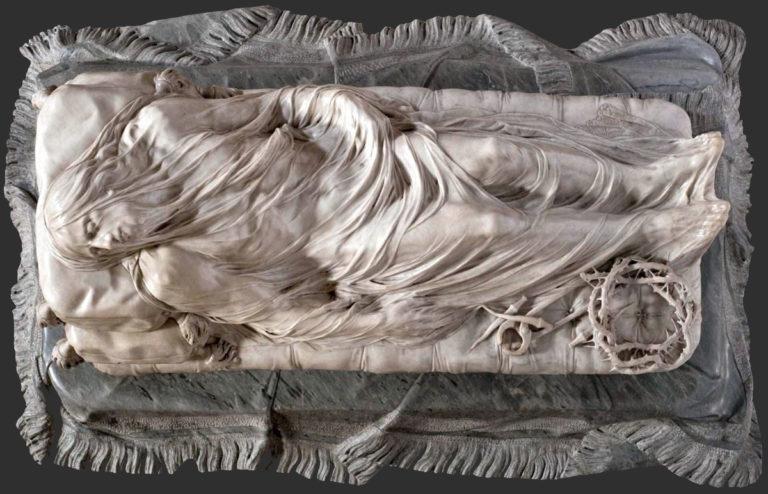 Христос под плащаницей. 1793