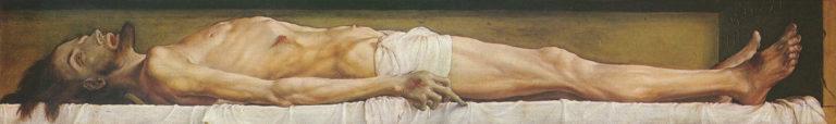 Христос во гробе. 1521–1522