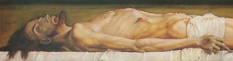 Христос во гробе. Фрагмент. 1521–1522