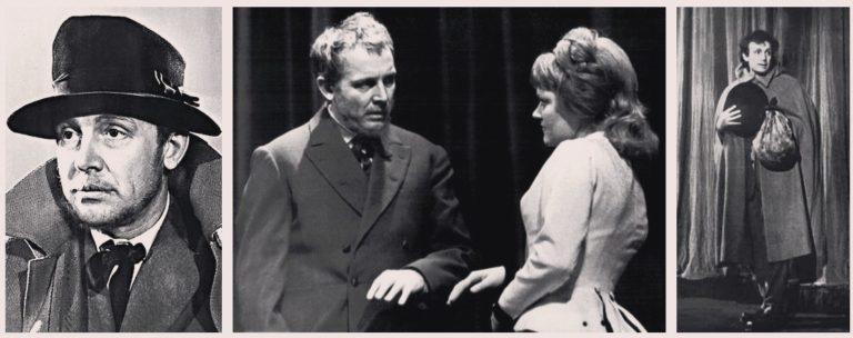 И. Смоктуновский в роли князя Мышкина. Сцены из спектакля «Идиот». 1957