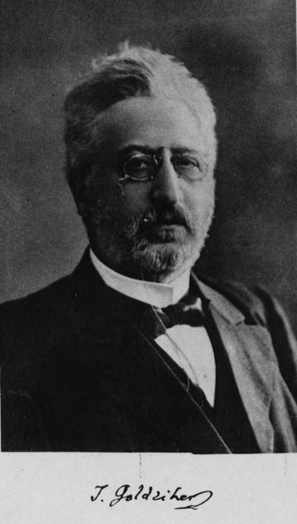 Игнац Гольдциер (венг. Goldziher Ignác, 1850–1921)