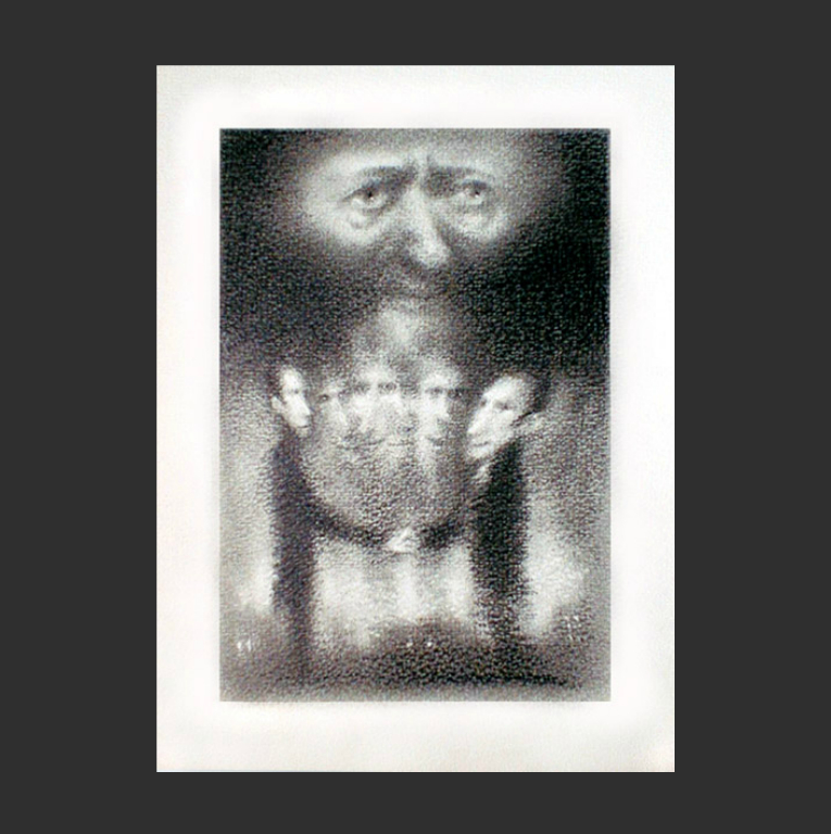 Иллюстрация к повести «Двойник». 1981