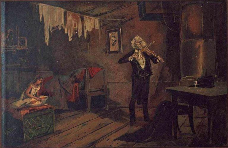 Иллюстрация к повести «Неточка Незванова». 1893