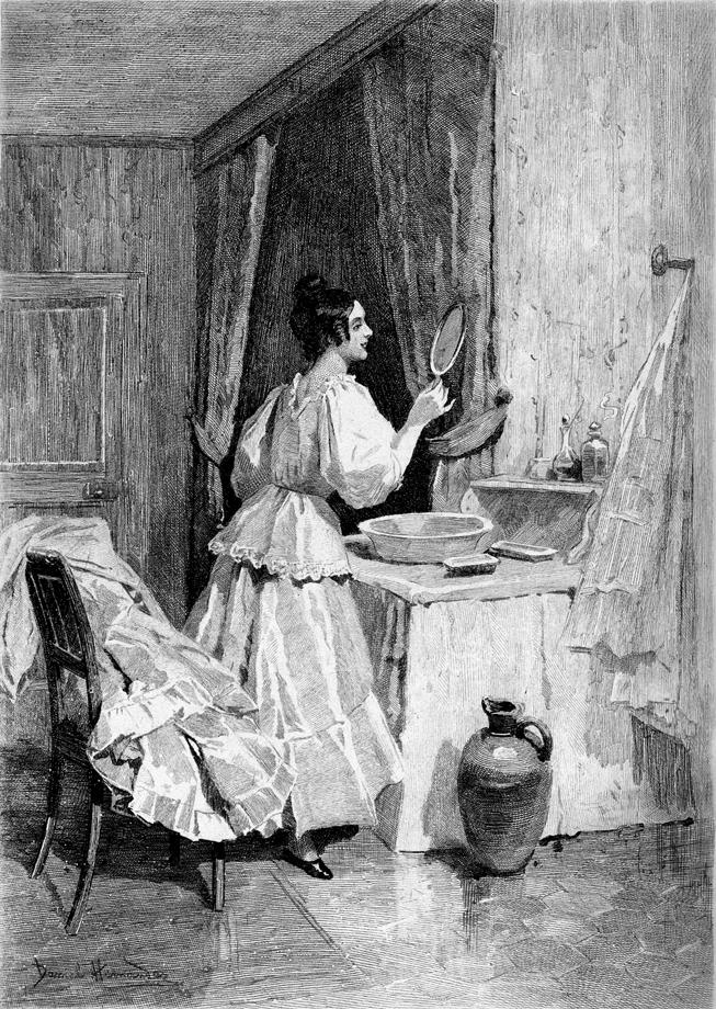 Иллюстрация к роману Бальзака «Евгения Гранде». 1890-е