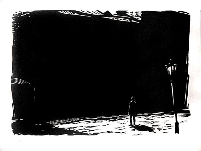 Иллюстрация к роману Ф. М. Достоевского «Идиот». 1956