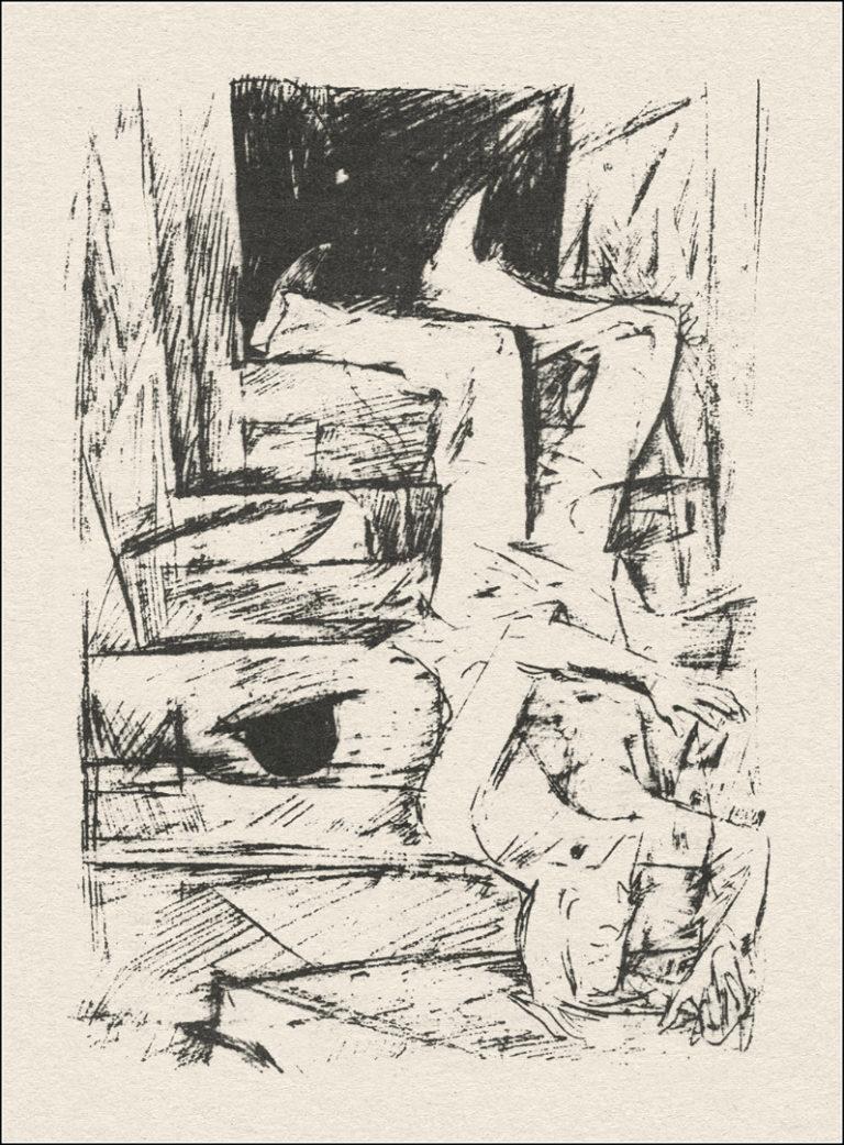 Иллюстрация к роману Ф. М. Достоевского «Идиот»