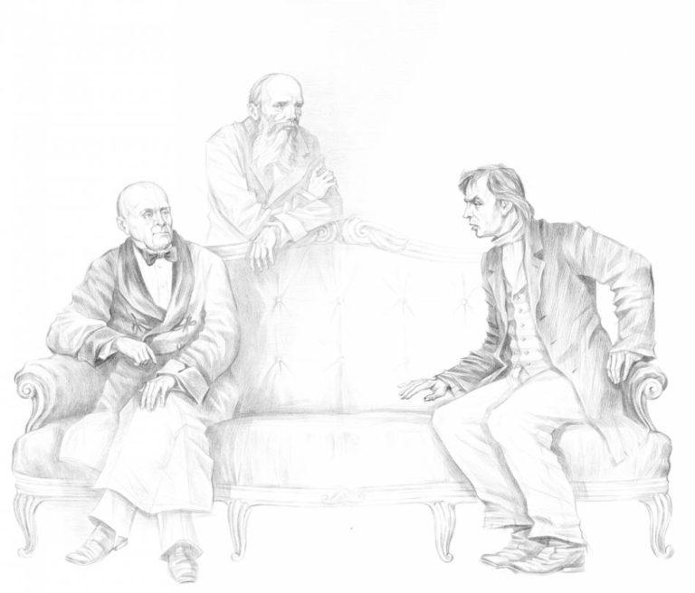 Иллюстрация к роману Ф. М. Достоевского «Преступление и наказание». 2007