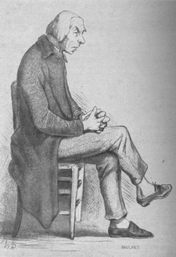 Иллюстрация к роману Оноре де Бальзака «Отец Горио». 1842