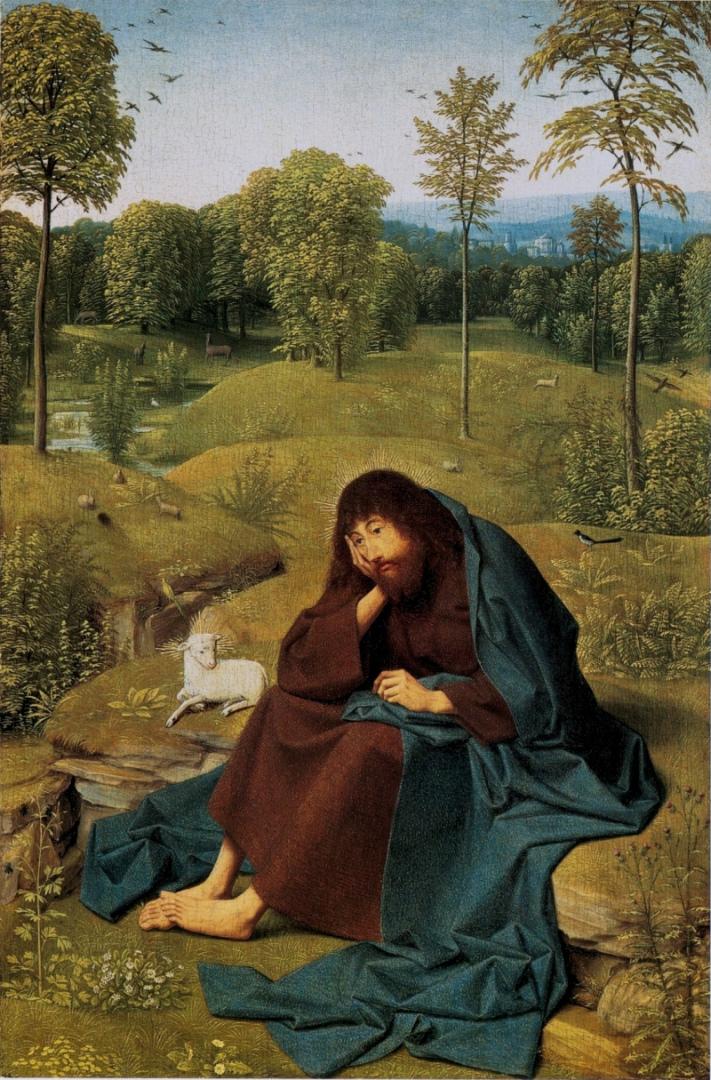 Иоанн Креститель в пустыне. Ок. 1490