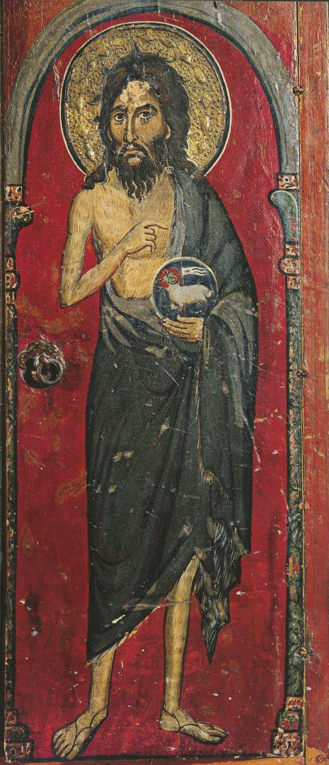 Иоанн Креститель. Фрагмент триптиха. Византия, XIII в.