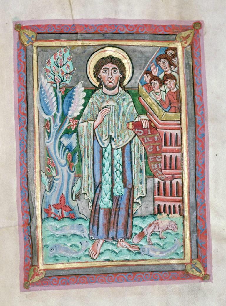 Иоанн Креститель. Кёльн, XII в.