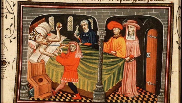 Ирод пытается совершить самоубийство. 1430