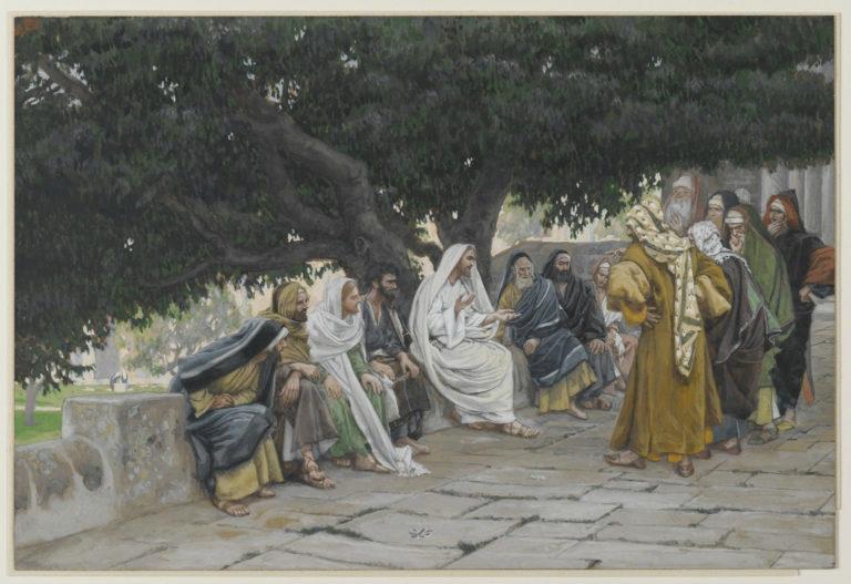 Искушение Иисуса Христа фарисеями и саддукеями. 1886–1894