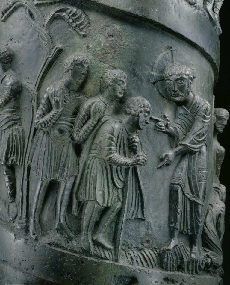 Исцеление слепого в Вифсаиде. 1015–1022