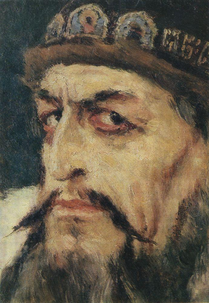 Иван Грозный (эскиз). 1883–1884